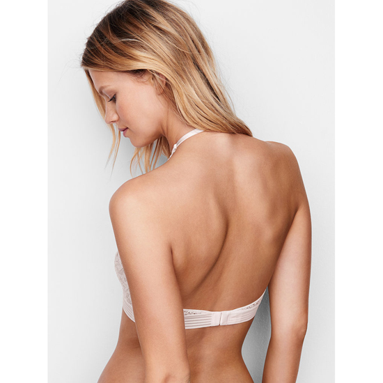 VICTORIA\'S SECRET Coconut White Keyhole High-neck Bra Outlet Online