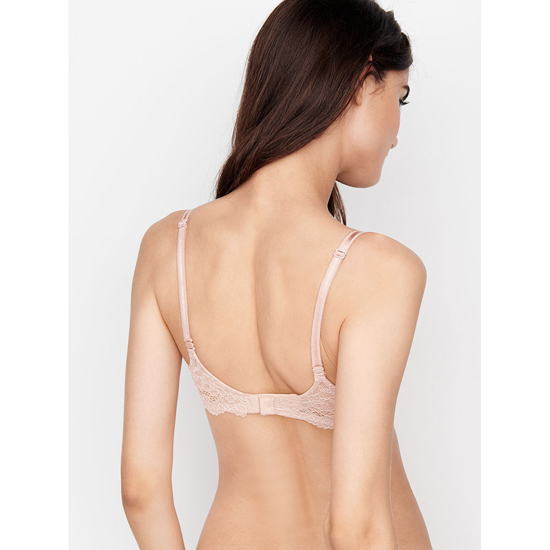 VICTORIA\'S SECRET Nude Lace Demi Bra Outlet Online