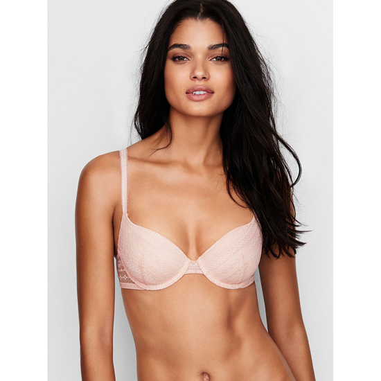 VICTORIA'S SECRET Champagne Lace NEW! Demi Bra Outlet Online
