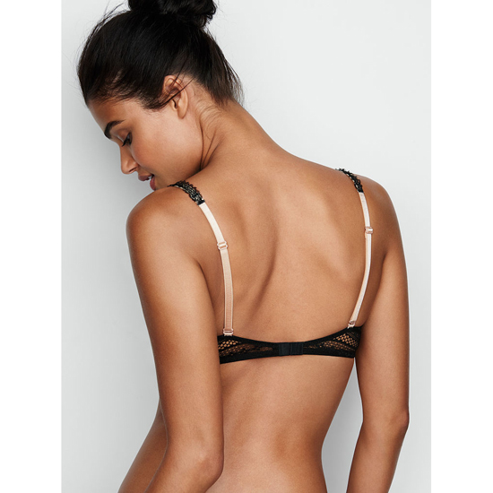 VICTORIA\'S SECRET Black Lace NEW! Demi Bra Outlet Online