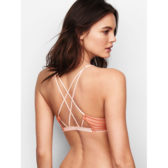 VICTORIA\'S SECRET Front-Close Ginger Glaze NEW! Demi Bra Outlet Online