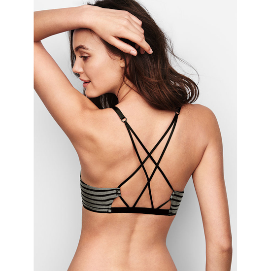 VICTORIA\'S SECRET Front-Close Black NEW! Demi Bra Outlet Online