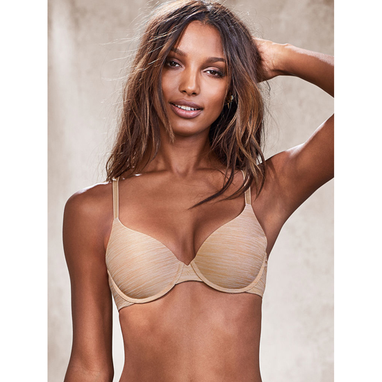 VICTORIA\'S SECRET Nude Marl NEW! Demi Bra Outlet Online