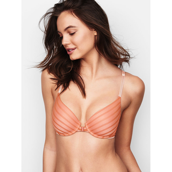 VICTORIA\'S SECRET Front-Close Ginger Glaze Demi Bra Outlet Online