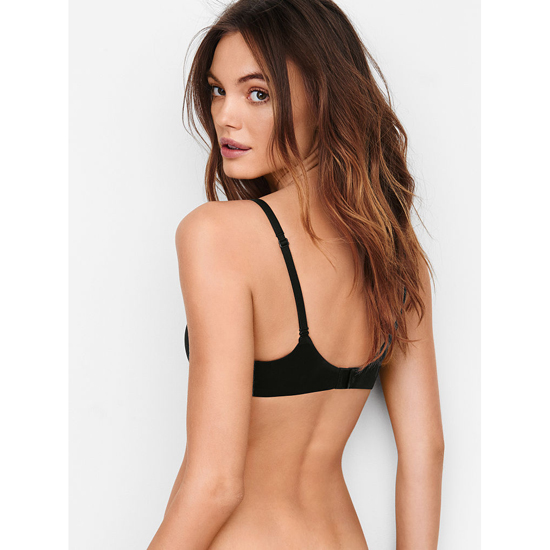 VICTORIA\'S SECRET Black W/ Black Lace Perfect Shape Bra Outlet Online