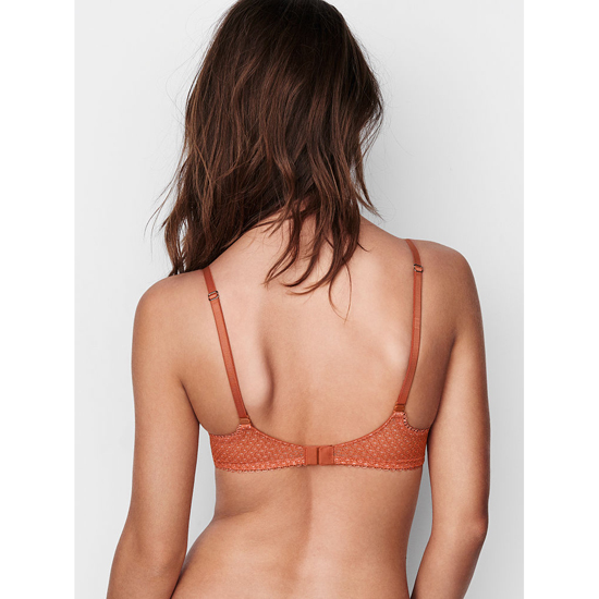 VICTORIA\'S SECRET Ginger Glaze Lace NEW! The Unlined Uplift Bra Outlet Online