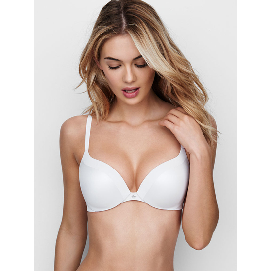 VICTORIA\'S SECRET White NEW! Add-1½-Cups Push-Up Bra Outlet Online
