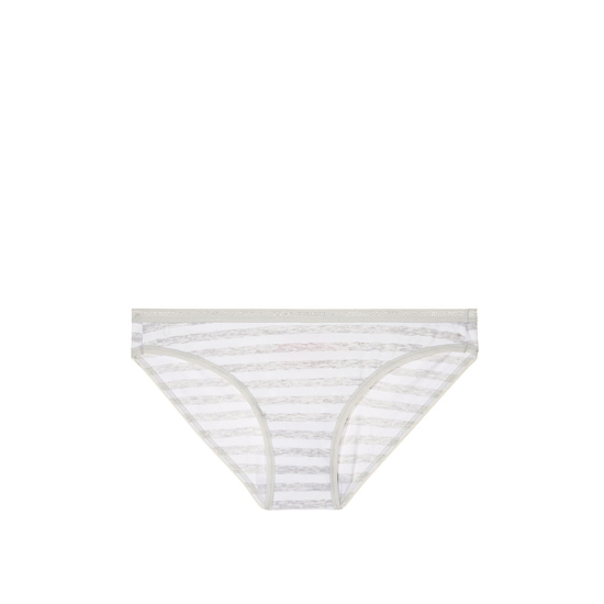 VICTORIA'S SECRET Grey Iconic Stripe Low-rise Bikini Panty Outlet Online