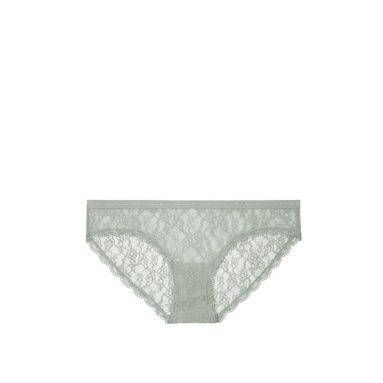 VICTORIA\'S SECRET Silver Sea Lace Bikini Panty Outlet Online