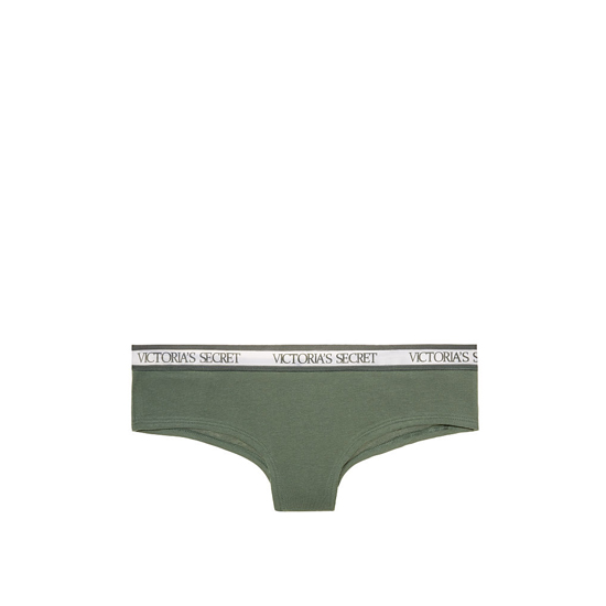 VICTORIA\'S SECRET Cadette Green NEW! Bold Logo cheeky Panty Outlet Online
