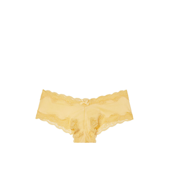 VICTORIA'S SECRET Light Comet NEW! Lace-Trim Cheeky Panty Outlet Online