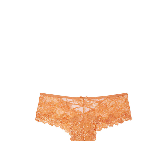 VICTORIA'S SECRET Gold Earth NEW! Strappy Lace Cheeky Panty Outlet Online