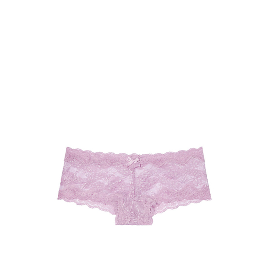 VICTORIA'S SECRET Fair Orchid NEW! Lace Cheeky Panty Outlet Online