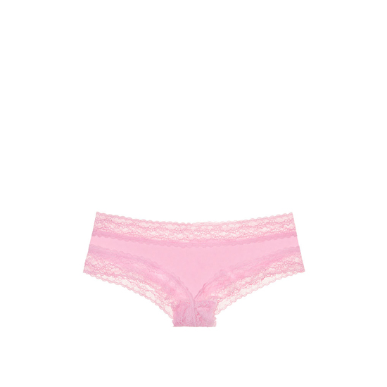 VICTORIA\'S SECRET Pink Bubble NEW! Lace-waist Cheeky Panty Outlet Online