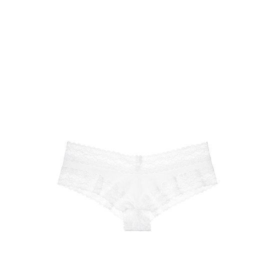 VICTORIA'S SECRET White NEW! Lace-waist Cheeky Panty Outlet Online