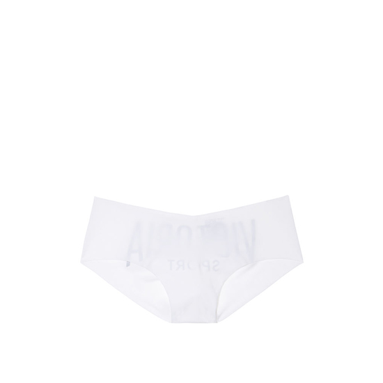 VICTORIA'S SECRET White Victoria Logo NEW! Raw Cut Hiphugger Outlet Online
