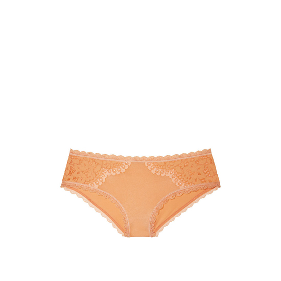 VICTORIA\'S SECRET Gold Earth NEW! Lace Hiphugger Panty Outlet Online