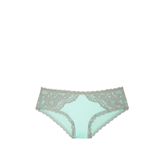 VICTORIA'S SECRET Silver Sea NEW! Lace Hiphugger Panty Outlet Online