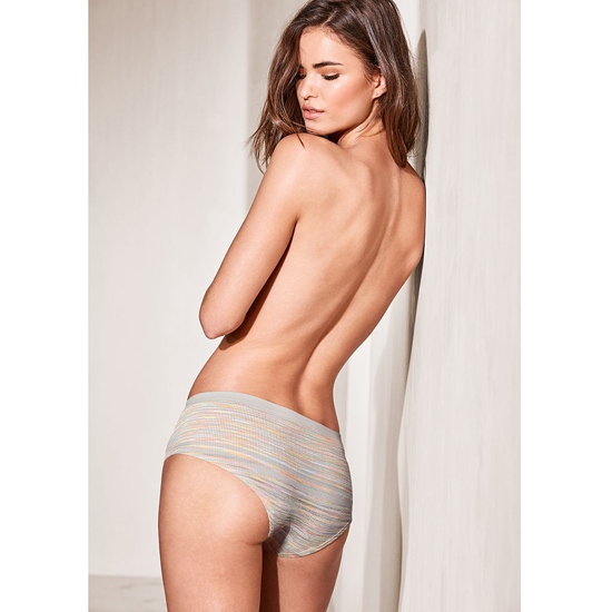 VICTORIA\'S SECRET White Space Dye NEW! Hiphugger Panty Outlet Online