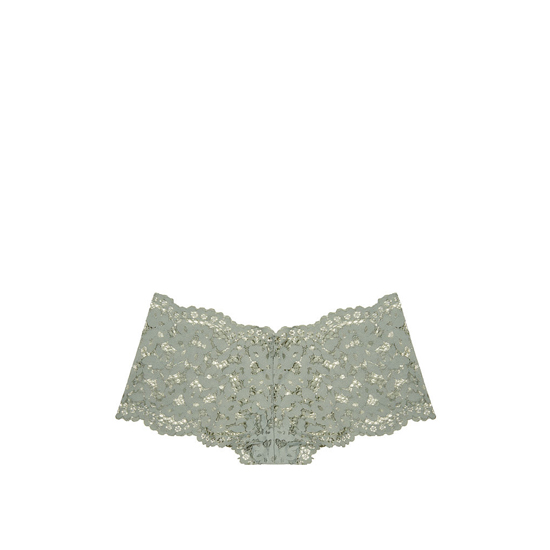 VICTORIA\'S SECRET Silver Sea NEW! The Floral Lace Sexy Shortie Outlet Online