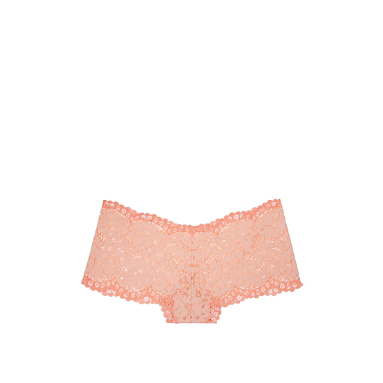 VICTORIA\'S SECRET Peach Melba The Floral Lace Sexy Shortie Outlet Online