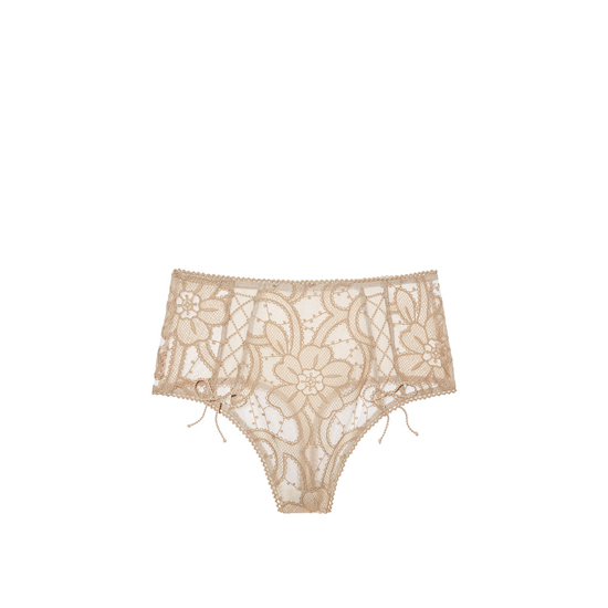 VICTORIA'S SECRET Sugar Cookie NEW! Lace High-waist Thong Panty Outlet Online