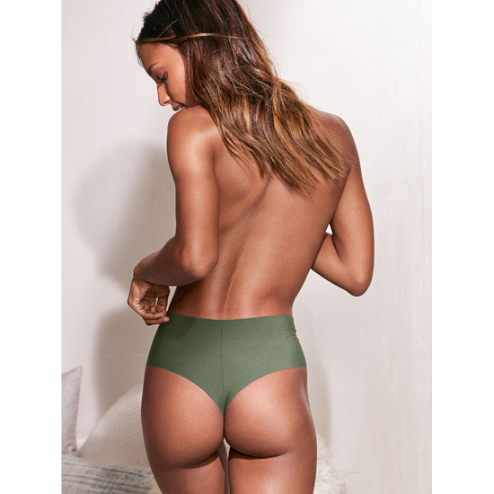 VICTORIA\'S SECRET Cadette Green NEW! Raw Cut High-waist Thong Outlet Online