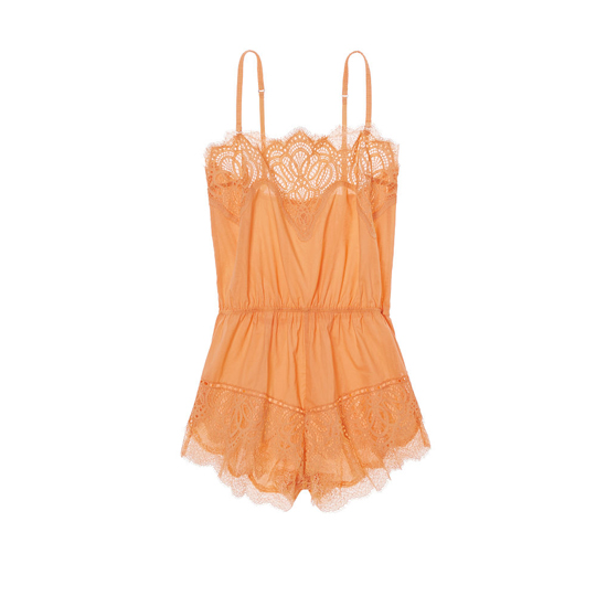 VICTORIA\'S SECRET Gold Earth NEW! Crochet Lace Romper Outlet Online