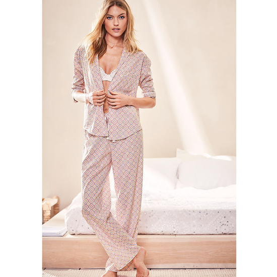 VICTORIA\'S SECRET Fair Orchid Gems NEW! The Mayfair Pajama Outlet Online