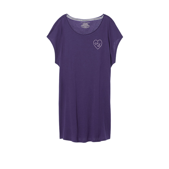 VICTORIA\'S SECRET Indigo/VS Graphic NEW! Angel Sleep Tee Outlet Online
