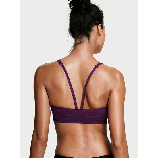 VICTORIA\'S SECRET Grape Soda NEW! Triangle Seamless Sport Bra Outlet Online