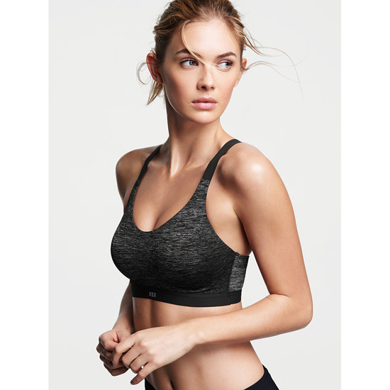VICTORIA'S SECRET Coed Marl NEW! Lightweight by Victoria Sport Bra Outlet Online