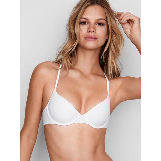VICTORIA'S SECRET White Lightly Lined Demi Bra Outlet Online