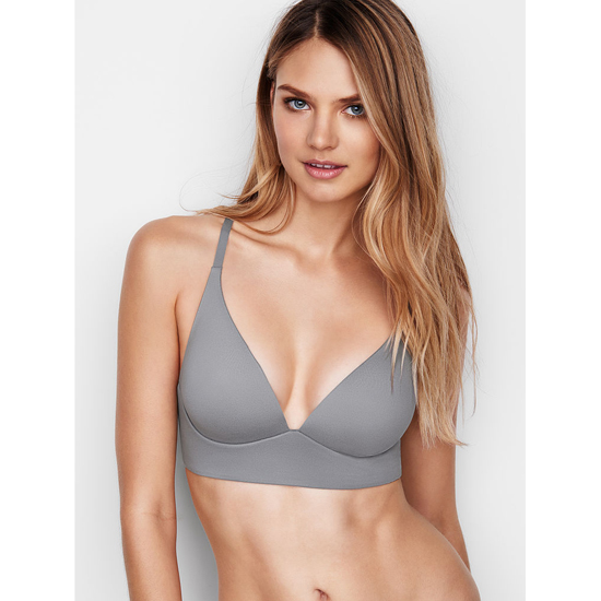 VICTORIA'S SECRET Sterling Pewter Easy Plunge Bra Outlet Online