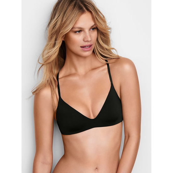 VICTORIA'S SECRET Black Lightly Lined Wireless Bra Outlet Online