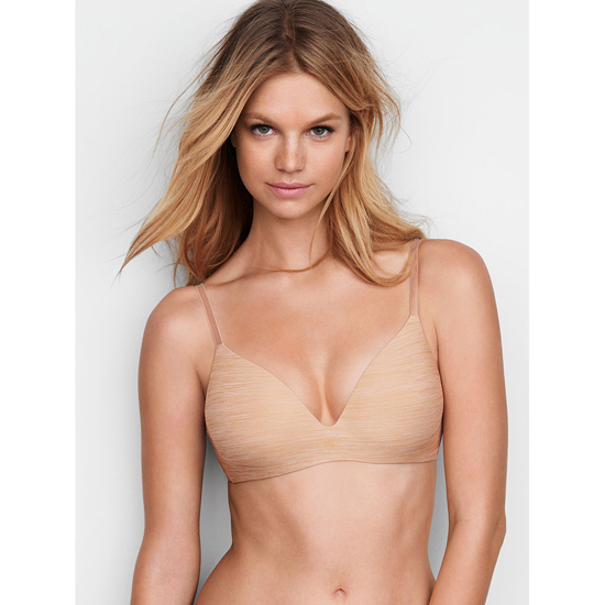 VICTORIA'S SECRET Almost Nude Marl NEW! Wireless Bra Outlet Online