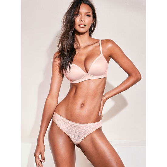 VICTORIA'S SECRET Sheer Pink NEW! Wireless Bra Outlet Online