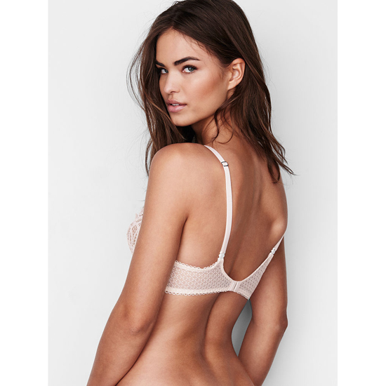 VICTORIA\'S SECRET Coconut White NEW! The Unlined Uplift Bra Outlet Online