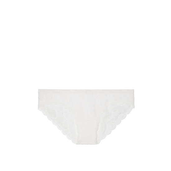 VICTORIA'S SECRET Coconut White Lace Bikini Panty Outlet Online