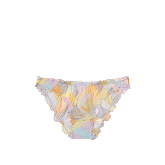 VICTORIA'S SECRET Multi Patchwork Print NEW! Ruffled Cheekini Bloomer Panty Outlet Online