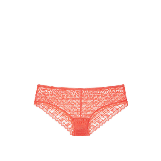 VICTORIA'S SECRET Coral Reef Lace Cheeky Panty Outlet Online