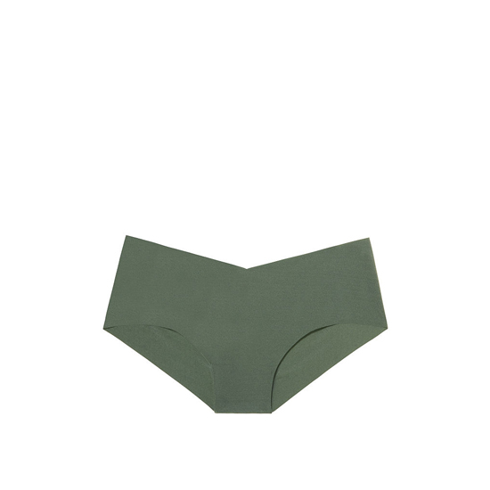 VICTORIA'S SECRET Cadette Green Victoria Logo Raw Cut Hiphugger Outlet Online