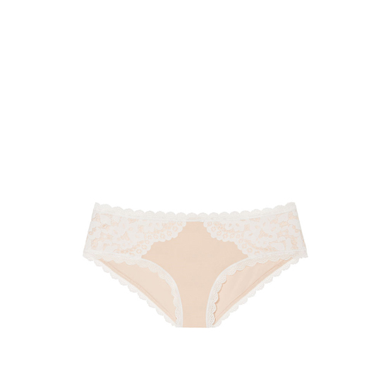 VICTORIA'S SECRET Champagne NEW! Lace Hiphugger Panty Outlet Online