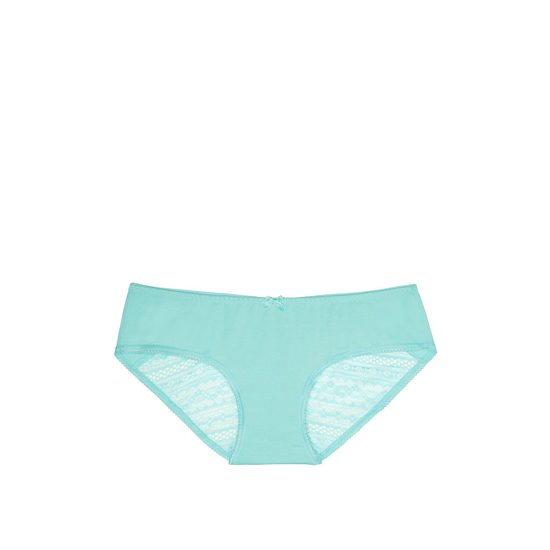 VICTORIA'S SECRET Aqua Splash NEW! Heart Ruched-back Hiphugger Panty Outlet Online