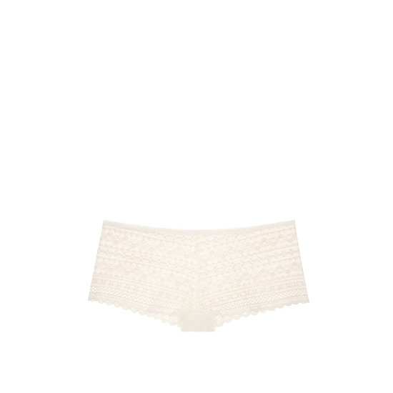 VICTORIA'S SECRET Coconut White NEW! Lace Shortie Panty Outlet Online