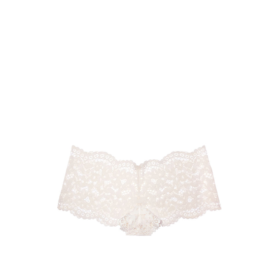 VICTORIA'S SECRET Coconut White NEW! The Floral Lace Sexy Shortie Outlet Online