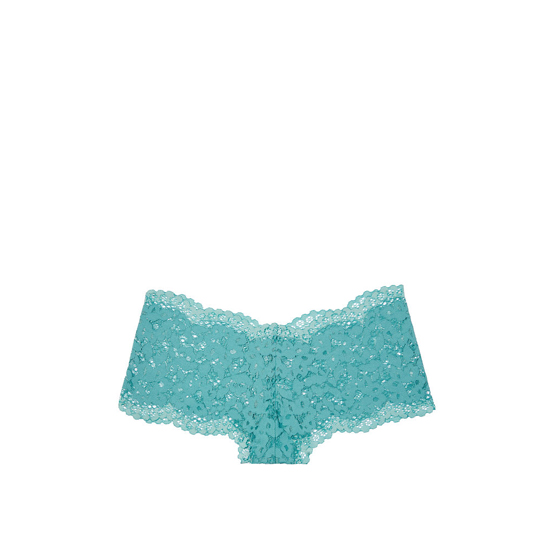 VICTORIA'S SECRET Cozumel Teal The Floral Lace Sexy Shortie Outlet Online