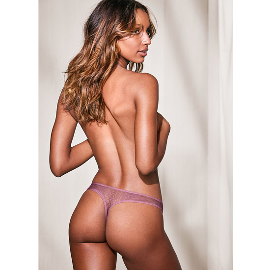 Discount VICTORIA'S SECRET Gentle Mauve NEW! Textured Thong Panty Online