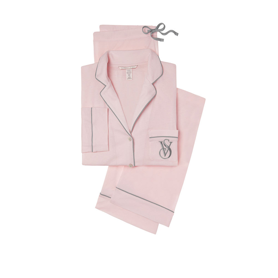 VICTORIA'S SECRET Angel Pink NEW! The Sleepover Knit Pajama Outlet Online