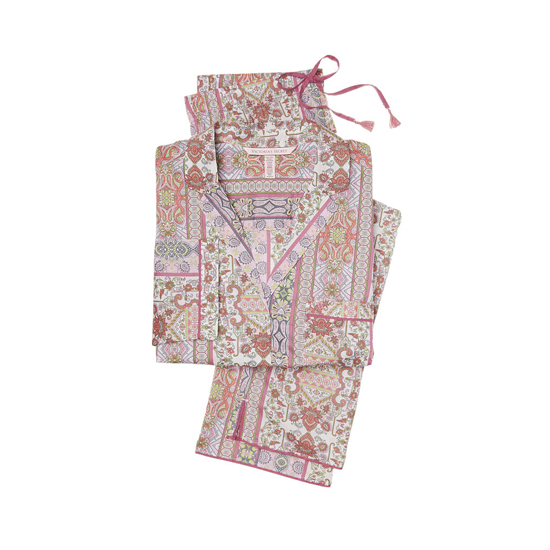 VICTORIA'S SECRET Pink Paisley Stripe NEW! The Mayfair Pajama Outlet Online